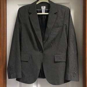 Worthington blazer, charcoal, size 14,